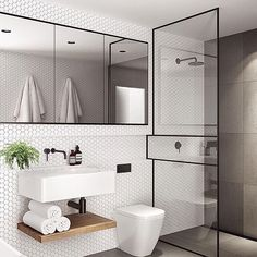 The ensuite of my dreams by Australian architectural design team @tomrobertsonarchitects #ImmyandIndi #interiordesign