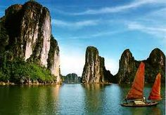 Situated in the north-east region of Viet Nam, Halong Bay is a part of Bac Bo Gulf and comprises the sea area of Halong City, Cam Pha Town and a part of Van Don island district, Quang Ninh Province. It borders Cat Ba Island to the south-west, the mainland to the west with a 120km-long coastline.