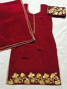 Punjabi Dress Design, Designer Punjabi Suits Patiala, Patiala Suit Designs, Punjabi Suit Boutique, Punjabi Suits Designer Boutique, Indian Designer Suits, Embroidery Suits Punjabi, Embroidery Suits Design, Embroidery Designs