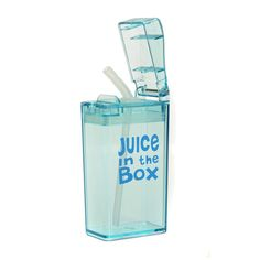 The ultimate travel drink box. Highly convenient, extremely easy to travel with and fits into lunch boxes easily. #backtoschool