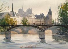 Pont des Arts, Iledelacité, 2011 by frankeber