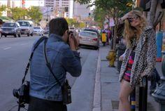 Nasty Gal model photographer fashion photo shoot