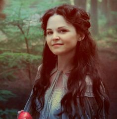 Snow White from Once Upon A Time. She is actually very beautiful here even if I don't like Snow from the show..
