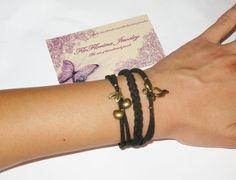 Bracelet Handmade Bracelets, Leather, Jewelry, Fashion, Moda, Jewlery, Jewerly, Fashion Styles, Schmuck