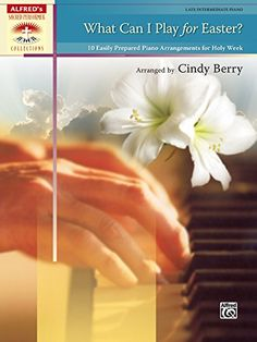 What Can I Play for Easter?: 10 Easily Prepared Piano Arrangements for Holy Week (Sacred Performer Collections):   This inspired collection of arrangements by Cindy Berry includes selections for Lent, Palm Sunday, Good Friday, and Easter. It is perfect for the busy church pianist who has limited rehearsal time. Each arrangement includes an approximate performance time to assist in planning. br /br /Titles:br /* At Calvary with Down at the Cross br /* Alas! And Did My Savior Bleed? br /...