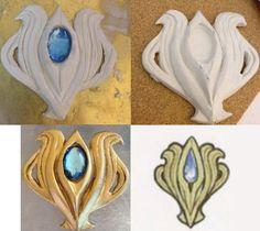 Fire Emblem Fates: Aqua/Azura Pendant by hello-hi-potion.deviantart.com on @DeviantArt