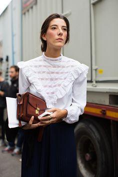 great blouse. Milan.