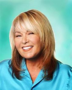 Hairstyles for Plus Size Faces | ... Hairstyle » Roseanne Barr With Medium Hairstyle For Round Face Shapes
