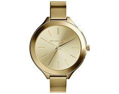 Michael Kors Women's Runway MK3275 Antique Gold Stainless-Steel Quartz Watch Review