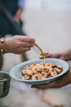 See more details from our al fresco dining on the beach #gathering #outdoordining #al fresco Food Photography Lighting, Sea Beans, Outdoor Dinner Parties, Tomato Jam, Seafood Stew, Custard Cake, Cheese Tarts, Cold Pressed Juice, Al Fresco Dining