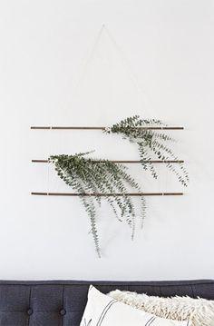 DIY eucalyptus wall hanging // sarah sherman samuel