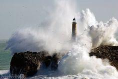 """500px / Photo """"- The lighthouse -"""" by Oscar Peña"""