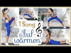 4,25 Min Aufwärmübungen - Richtig Aufwärmen mit nur einem Song Körper Dehnen - Warm Up vor dem Sport - YouTube