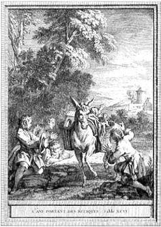 Illustration Jean-Baptiste Oudry (1783)