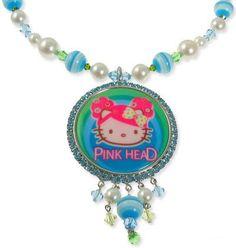 Tarina Tarantino Hello Kitty Puff Multi Bead Perspex Necklace