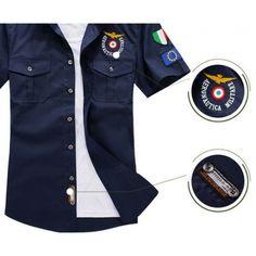 Camisa Militar Italiana  moda  modamasculina  inspiração  lookmasculino   lookdodia  homem   aba0c7e4a0b
