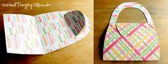 DIY Notecard Purses