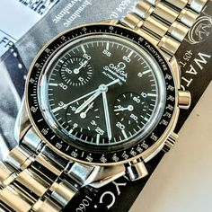 #omega #speedmaster #chronograph #watch #sold to #collector in #nyc - more #watches #forsale at www.watchvaultnyc.com #watchporn #womw