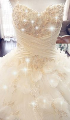 Princess ball gown wedding dress sweetheart