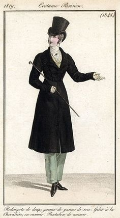 Dickensian Dandy - moika-palace: Men's Redingotes, Costumes...