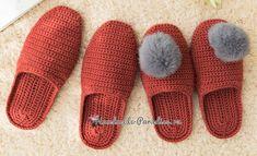 Crochet Sandals, Booties Crochet, Crochet Slippers, Baby Booties, Thread Crochet, Knit Crochet, Crochet Slipper Pattern, Dk Weight Yarn, Chunky Yarn