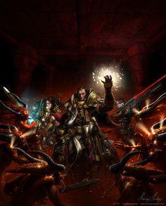 assasin bloodletter bolter chaos daemon dark_heresy henningludvigsen imperium implant_eye inquisition temple_vindicare