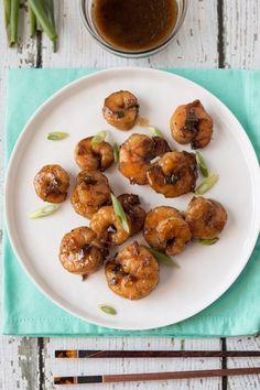 Recipe: Bourbon-Glazed Shrimp