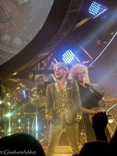 @GlambertAddict : Some of my #MoheganSun 2 #QueenBert pics @adamlambert @QueenWillRock @DrBrianMay