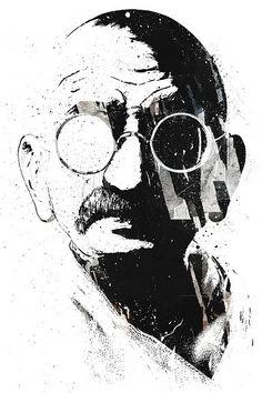 Gandhi ~by ALEX CHERRY