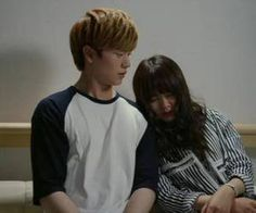 BTOB Sungjae (and actress Kim So Hyun, for drama Who Are You: School ~ in the past, present and future, I love you forever (예지앞사) Sungjae And Joy, Sungjae Btob, Goblin Korean Drama, Korean Drama Movies, Taiwan Drama, Drama Korea, Who Are You School 2015, Kim Sohyun, Drama School