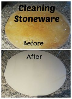 Baking soda, a bit of salt, & a little water water to make a thick paste. Same for pots & pans.