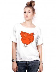 T-shirt damska `Kura`