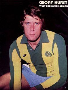 West Bromwich Albion Fc, Geoff Hurst, English Football League, Retro Football, Hero, Terrace, 1970s, Legends, Album