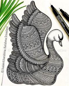 Easy Mandala Drawing, Mandala Sketch, Mandala Doodle, Doodle Art Drawing, Zentangle Drawings, Doodling Art, Design Art Drawing, Mandala Art Therapy, Mandala Art Lesson