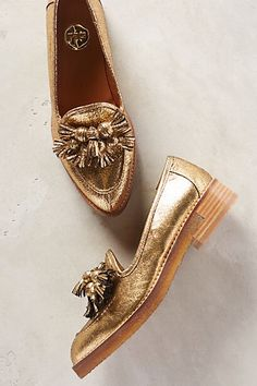Ras Golden Tassel Loafers