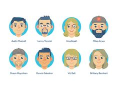 Here is the second group of the Slap! Stickers Family Roster! (:  This group here includes: @Justin Mezzell @Lenny Terenzi @Hoodzpah @Mike Jones @Shaun Moynihan @Dennis Salvatier @Vic Bell @Brittan...