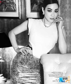 Actress Christy Chung
