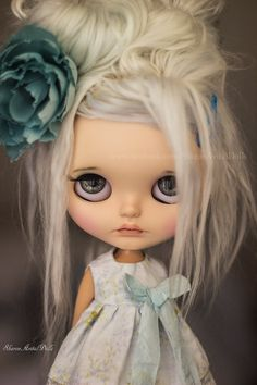 OOAK custom Blythe doll by Sharon Avital - 'Boo'