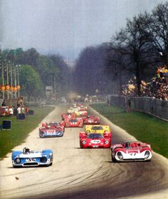 The 1000km of Monza in 1970.