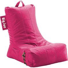 Big Joe Video Lounger SmartMax in Pink-ini bean bag chair