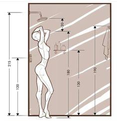 Bathroom Layout Plans, Small Bathroom Layout, Small Bathroom Dimensions, Bad Inspiration, Bathroom Inspiration, Toilet Design, Bathroom Design Luxury, Washroom Design, Bathroom Renos