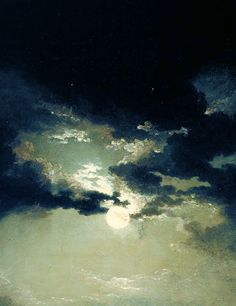 Fishermen At Sea (1801)  J.M.W. Turner I like this picture, because of the contrast with the moon and the dark clouds.