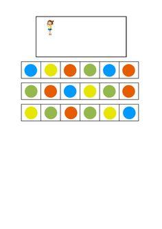 Tiles for the rotating girl visual perception game. Find the belonging tiles on Autismespektrum on Pinterest. By Autismespektrum