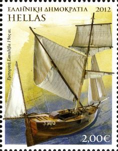 Hellas stamp Sir Gilbert, Cloud Drawing, Stamp Collecting, Postage Stamps, Sailing Ships, Lighthouse, Andorra, Ocean, Horses