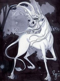 The Last Unicorn Art