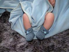 Baby Bootie Crochet Pattern by HaberdasheryGirls on Etsy