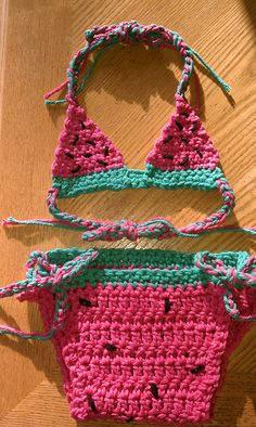 The Sweet Watermelon Bikini By Emilee Cruz - Purchased Crochet Pattern - (ravelry)