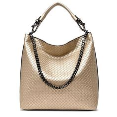 Chain Bucket Women Bag New Fashion PU Leather Women Shoulder Bag Big Luxury  Brand Ladies Hand bags Large Tote Bag Sac A Main. Custom Purses 49d32d01dd806