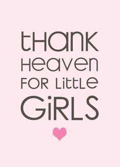 Thank heavens for little boys too!