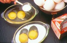 Eggs Ready to Bake